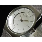 SKAGEN スカーゲン 腕時計 ウルトラスリム 233SSS ステンメッシュ レディース レビューを書いて送料無料