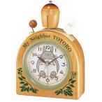 RHYTHM リズム時計 からくり目覚まし時計 となりのトトロ トトロR455N 4RA455MN06 クォーツ
