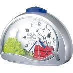 RHYTHM リズム時計 めざまし時計 スヌーピーと仲間たち スヌーピーR506 4SE506MJ19 クォーツ