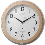 RHYTHM リズム時計 自動点灯機能付 電波掛時計 ピュアライトマーロン 8MYA23SR13