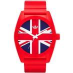adidas アディダス 腕時計 SANTIAGO サンティアゴ ユニオンジャック ADH9034 レッド 送料無料