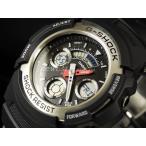 ショッピングShock CASIO カシオ 腕時計 G-SHOCK ジーショック Gショック COMBINATION AW-590-1AJF アナデジ 国内正規品