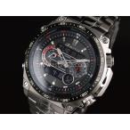 CASIO カシオ EDIFICE エディフィス ECW-M300EDB-1A ブラック×シルバー 腕時計 メンズ 即納