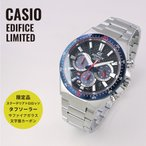CASIO カシオ EDIFICE エディフィス スクーデリア・トロ・ロッソ EFS-S520TR-1A ブラック×シルバー 腕時計 メンズ 即納
