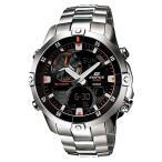 CASIO カシオ EDIFICE エディフィス ADVANCED MARINE LINE アドバンスマリンライン EMA-100D-1A1V ブラック×シルバー 腕時計 海外モデル