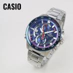 CASIO カシオ EDIFICE エディフィス スクーデリア・トロ・ロッソ EEQB-900TR-2A ブルー×シルバー 腕時計 メンズ 即納