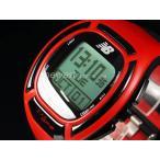 正規品 New Balance ニューバランス ランニングウォッチ GPS機能搭載 for windows EX2-906-001 レッド×ブラック メンズ 腕時計 即納