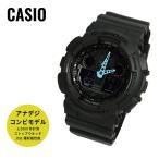 ショッピングShock CASIO カシオ G-SHOCK G-ショック GA-100C-8A グレー×ブルー 海外モデル 腕時計 即納