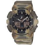 ショッピングShock CASIO カシオ G-SHOCK G-ショック GA-100MM-5A ブラック×ブラウン 海外モデル 腕時計