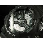 ショッピングShock CASIO カシオ 腕時計 G-SHOCK ジーショック Gショック アナデジ GA-110C-1A グレー 海外モデル
