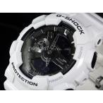 ショッピングShock CASIO カシオ 腕時計 G-SHOCK Gショック ホワイト&ブラックシリーズ GA-110GW-7A ホワイト×ブラック 海外モデル 即納