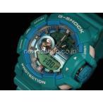 ショッピングShock CASIO カシオ G-SHOCK G-ショック Hyper Colors ハイパーカラーズ GA-400A-2A ブルーグリーン 海外モデル 腕時計 即納