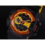 ショッピングShock CASIO カシオ G-SHOCK G-ショック GA-400BY-1A イエロー×ブラック 海外モデル 腕時計 メンズ