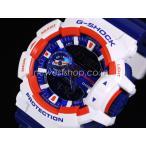 ショッピングShock CASIO カシオ G-SHOCK G-ショック Crazy Colors クレイジーカラーズ GA-400CS-7A ブルー×ホワイト 海外モデル 腕時計 即納