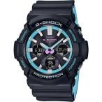 ショッピングShock CASIO カシオ G-SHOCK ジーショック GAS-100PC-1A ブラック 腕時計 メンズ 即納