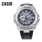 ショッピングShock CASIO カシオ G-SHOCK G-ショック G-STEEL Gスチール GST-410-1A ブラック×シルバー 腕時計 海外モデル メンズ 即納