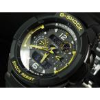 ショッピングGW CASIO カシオ 腕時計 G-SHOCK ジーショック Gショック SKY COCKPIT スカイコックピット GW-3500B-1A ブラック×イエロー 海外モデル 即納