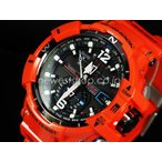 CASIO カシオ G-SHOCK Gショック SKY COCPIT スカイコックピット 電波ソーラー GW-A1100R-4A ブラック×オレンジ 海外モデル 腕時計 即納
