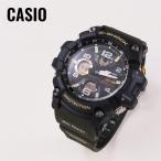 ショッピングShock CASIO カシオ G-SHOCK G-ショック MUDMASTER マッドマスター 電波ソーラー GWG-100-1A3 ブラック×カーキ 腕時計 メンズ 即納