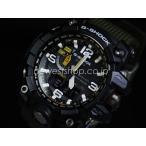 ショッピングShock CASIO カシオ G-SHOCK Gショック MUDMASTER マッドマスター GWG-1000-1A3 ブラック×カーキ 海外モデル メンズ 腕時計 即納