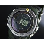 CASIO カシオ プロトレック PRW-3100G-3 ブラック×オリーブ 海外モデル 腕時計 メンズ 即納