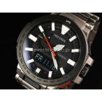 CASIO カシオ プロトレック MANASLU マナスル PRX-8000T-7A ブラック×シルバー 海外モデル 腕時計 即納