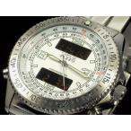PAZZO パッゾ 腕時計 デジタル/アナログ PZ-12343-01 ホワイトPZ12343 メンズ 送料無料