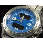 PAZZO パッゾ 腕時計 デジタル/アナログ PZ-12343-03 ブルー 送料無料 即納