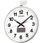 SEIKO セイコー 大型 掛け時計 オフィスタイプ ソーラー 屋外用 SF211S 電波掛時計