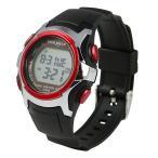 ショッピングPIECE 正規品 TIME PIECE タイム ピース 電波 ソーラー TPW-001RD レッド×ブラック 腕時計 ユニセックス 送料無料
