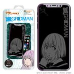 マジカルプリントガラス SSSS.GRIDMAN iPhone X   XS 02 新条アカネ グッズ
