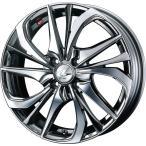 WEDS ウェッズ LEONIS レオニス TE ティーイー アルミホイール 4本セット 15インチ ブラック系 4.5J PCD100 4穴 スポーク 軽自動車