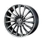 weds ウェッズ LEONIS レオニス CH シーエイチ アルミホイール 4本セット 17インチ シルバー系 7.0J PCD114.3 5穴 フィン セダン・ワゴン・SUV・ミニバン