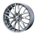 weds ウェッズ LEONIS レオニス MX エムエックス アルミホイール 4本セット 18インチ シルバー系 7.0J PCD114.3 5穴 メッシュ ミニバン・ワゴン・セダン