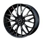 weds ウェッズ LEONIS レオニス MX エムエックス アルミホイール 4本セット 18インチ ブラック系 7.0J PCD100 5穴 メッシュ ワゴン・セダン