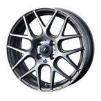 weds ウェッズ LEONIS レオニス NAVIA06 ナヴィアゼロシックス アルミホイール 単品1本 15インチ シルバー/ブラック系 4.5J PCD100 4穴 メッシュ 軽自動車全般