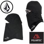 【VOLCOM】ボルコム JP Polartec PD BALACLAVA BLACK バラクラバ 目出し帽 フェイスマスク 薄手 アウトドア 防寒 グッズ 雪山 SNOW