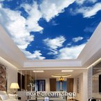 Yahoo!next-dream.shop3D 壁紙 1ピース 1m2 自然風景 青い空 白い雲 天井用 インテリア 装飾 寝室 リビング 耐水 防湿 h02681