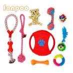Yahoo! Yahoo!ショッピング(ヤフー ショッピング)FONPOO犬用 噛むおもちゃ ぬいぐるみ ロープ 丈夫 小中型犬 猫 (10個)