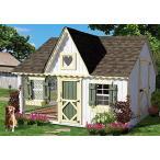 ペット用品・カゴ 小さなコテージの会社ヴィクトリア居心地の良い小屋プレハブ プレイハウス キットは、8' × 10' 正規輸入品