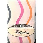 ショッピングSelection キッチンKitchen Tablecloth PEVA Flannel Backed Multi Design & Color Selection 52 X 90 Oblong 正規輸入品