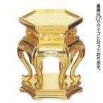 仏具 仏器台 (木製 京型六角仏器台) 3.0寸