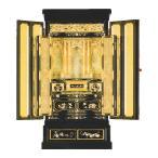 京型上置 たまゆら 京ランマ 蒔絵入 地袋戸付 西 箔仕上 金仏壇