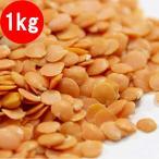 レンズ豆 赤 レッドレンティル 1kg 皮なし ヒラマメ レンズマメ 豆