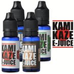 電子タバコ リキッド KAMIKAZE E-JUICE(カミカゼ) 15ml×1本 正規品 日本製 VAPE用 [選べるフレーバー]