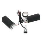 ホットグリップ ウォーマー バイク 用グリップ ヒーター 冬 ツーリング 防寒 ハンドル スロットル ET-CS-043