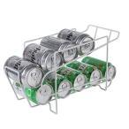 缶収納ラック 冷蔵庫収納ラック 缶ストッカー キッチン収納 最大350mlの10缶収納 上収納 缶・ビール ANSYUNO