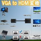 VGA to HDMI 変換 解像度 1080P ビデオ PC