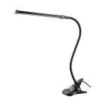 クリップライト led デスクライト 卓上ライト 3段調色 暖色 昼光色 白色 10段調光 USB式 80個LED 360°回転 フレキシブル DESCLIP