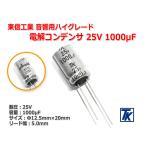 東信工業 音響用ハイグレード電解コンデンサ Jovial UTSJ 25V/1000μF 1EUTSJ102
